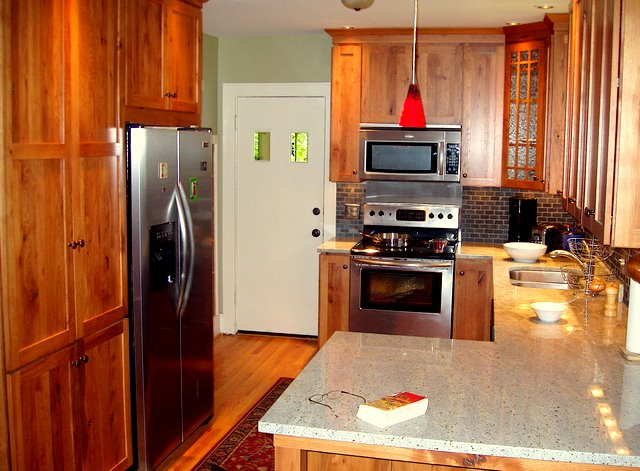 Arts And Crafts Style Kitchen Cabinet